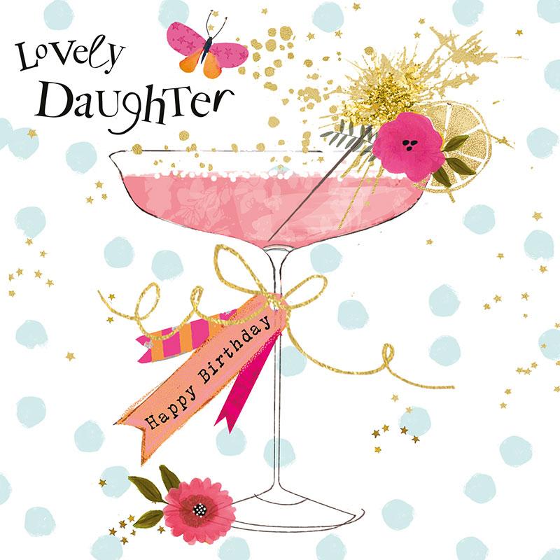 Lovely Daughter Happy Birthday