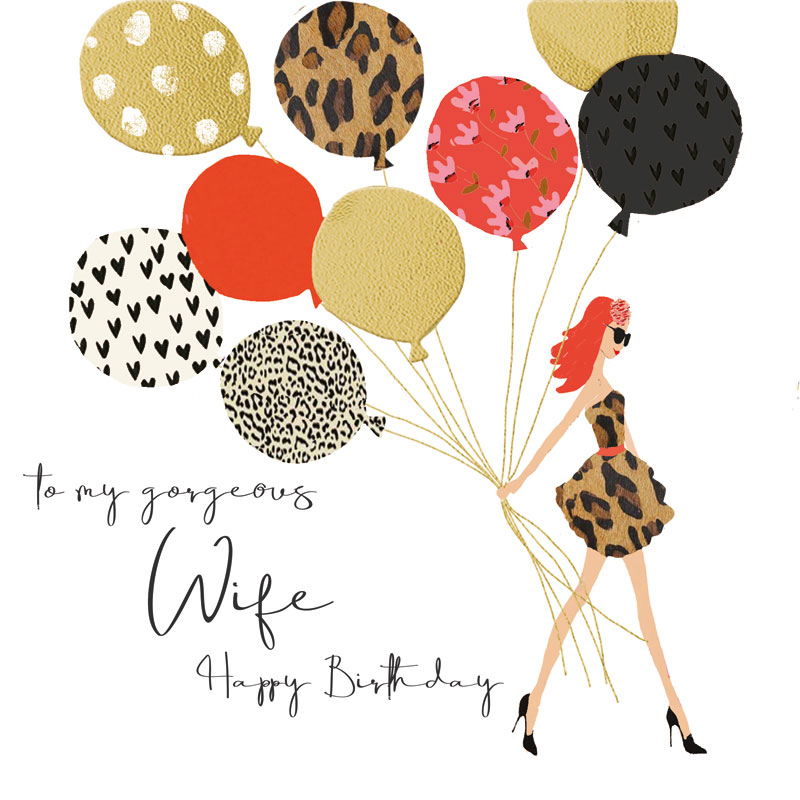 To My gourgeous Wife Happy Birthday