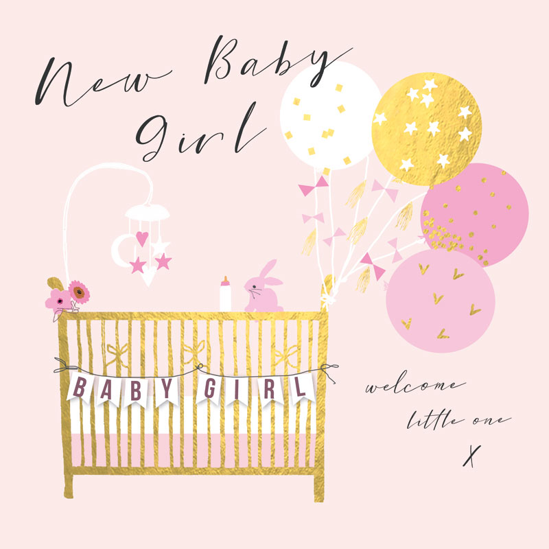 New Baby Girl welcome little one