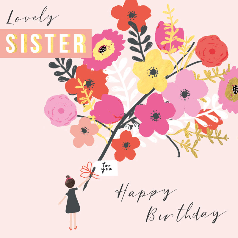 Lovely Sister Happy Birthday