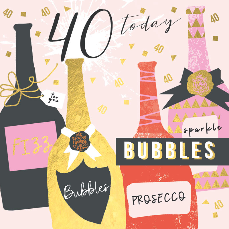 40 Today Bubbles