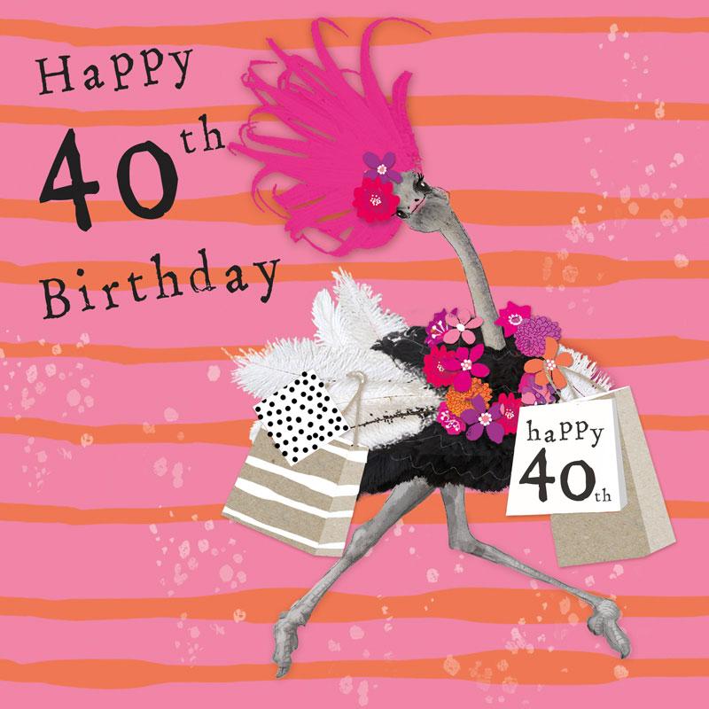 40 Happy Birthday