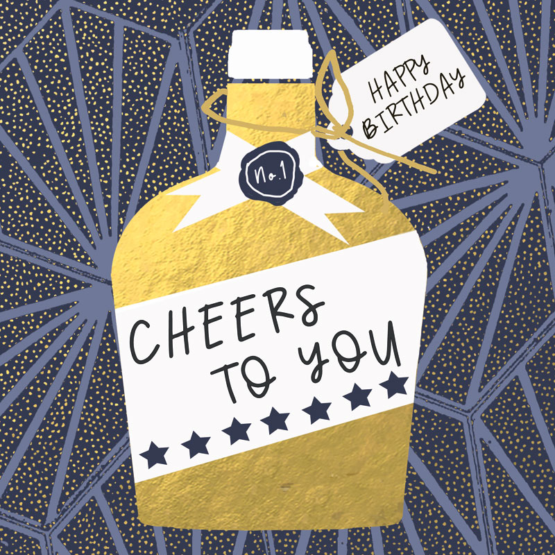 Happy Birthday Cheers To You