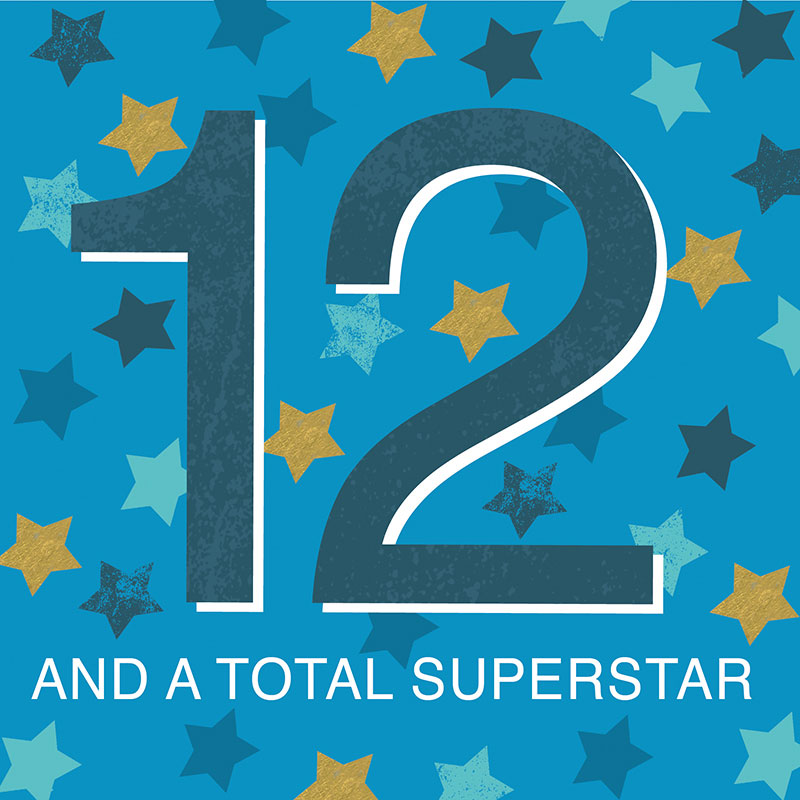 12 And A Total Superstar
