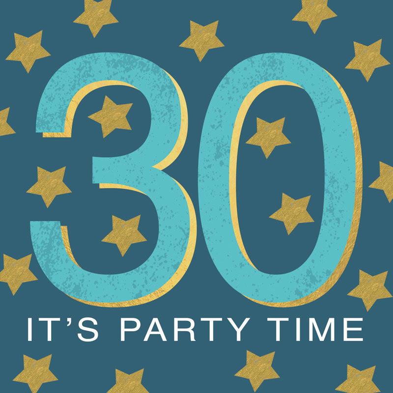 30 It's Party Time