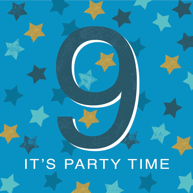 9 It's Party Time