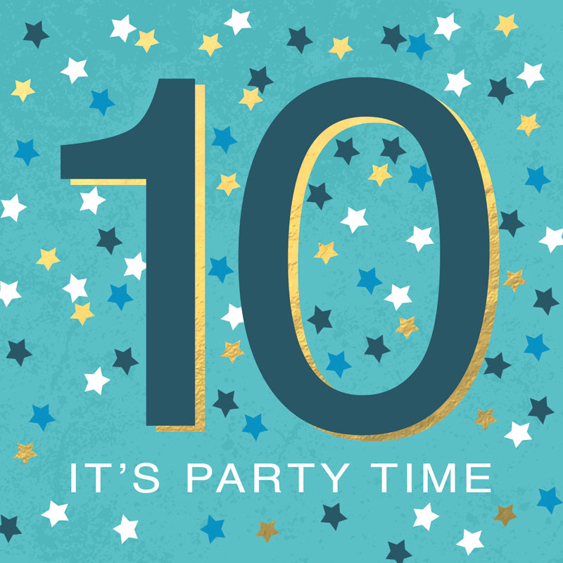 10 It's Party Time