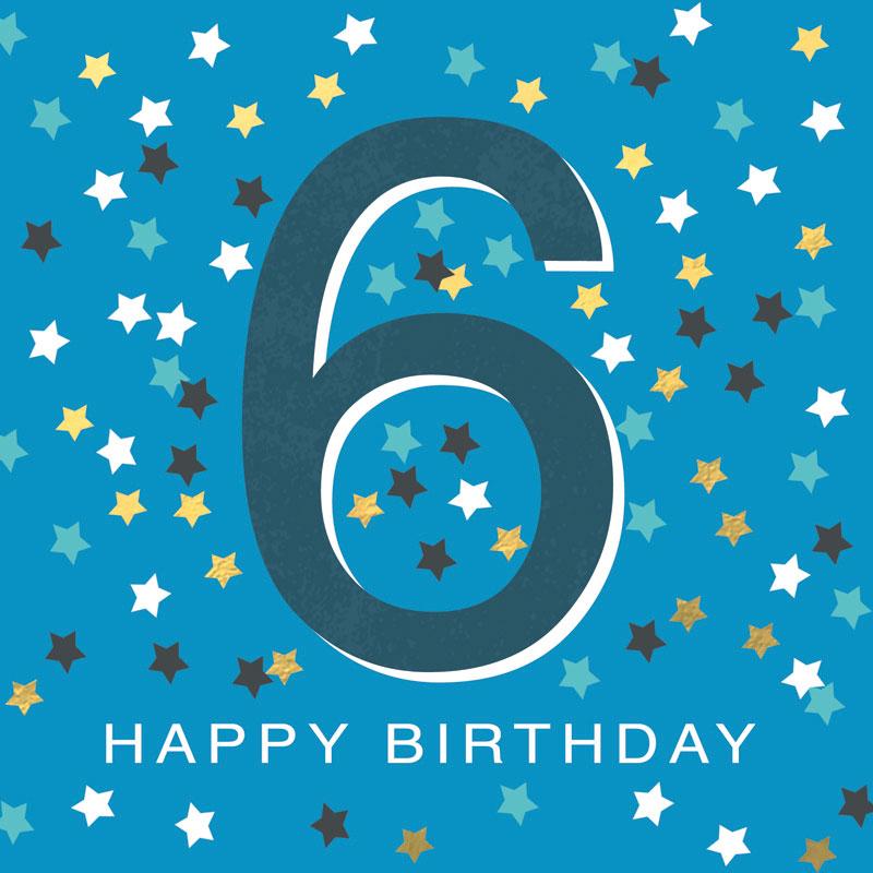 6 Happy Birthday