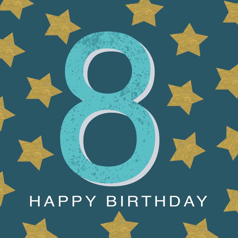 8 Happy Birthday