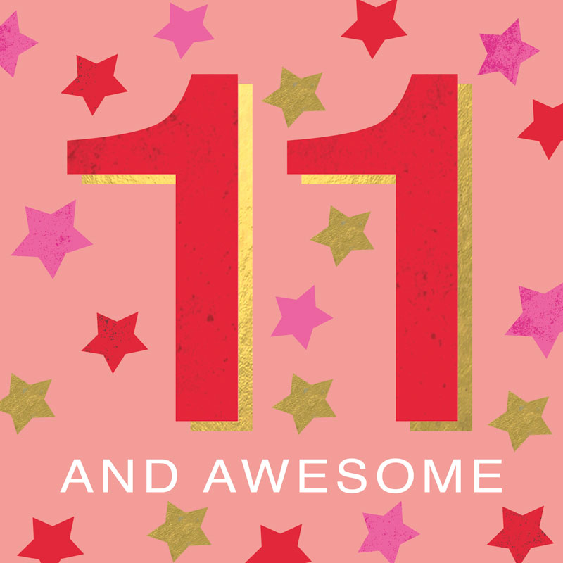 11 And Awesome