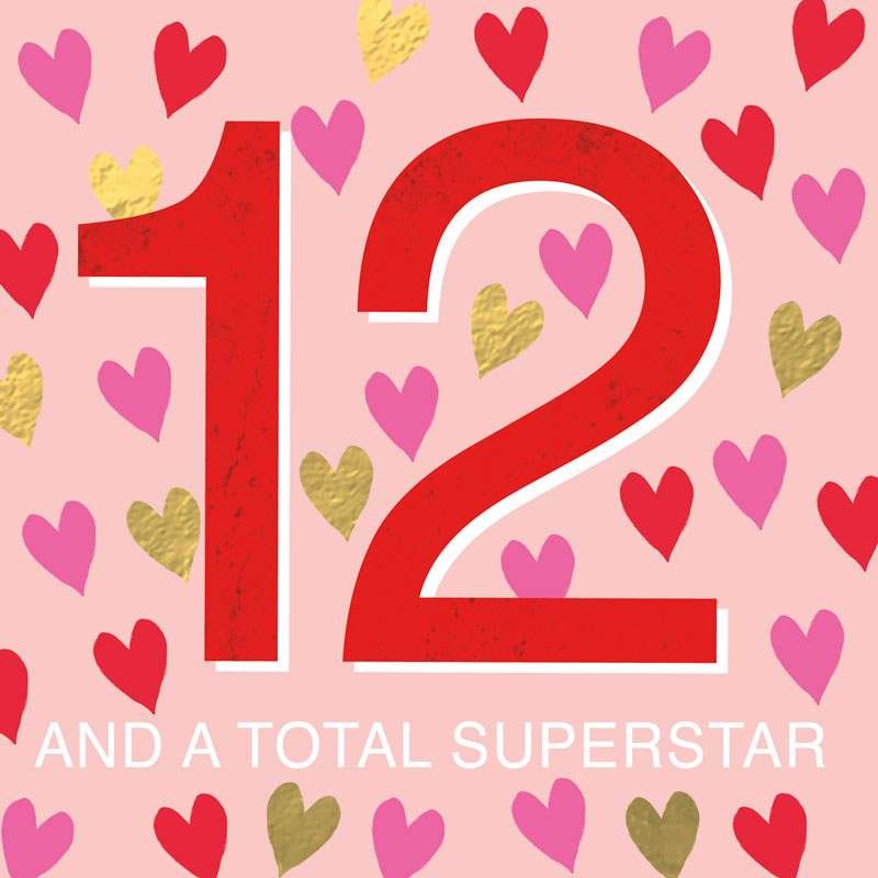12 And Totally Superstar
