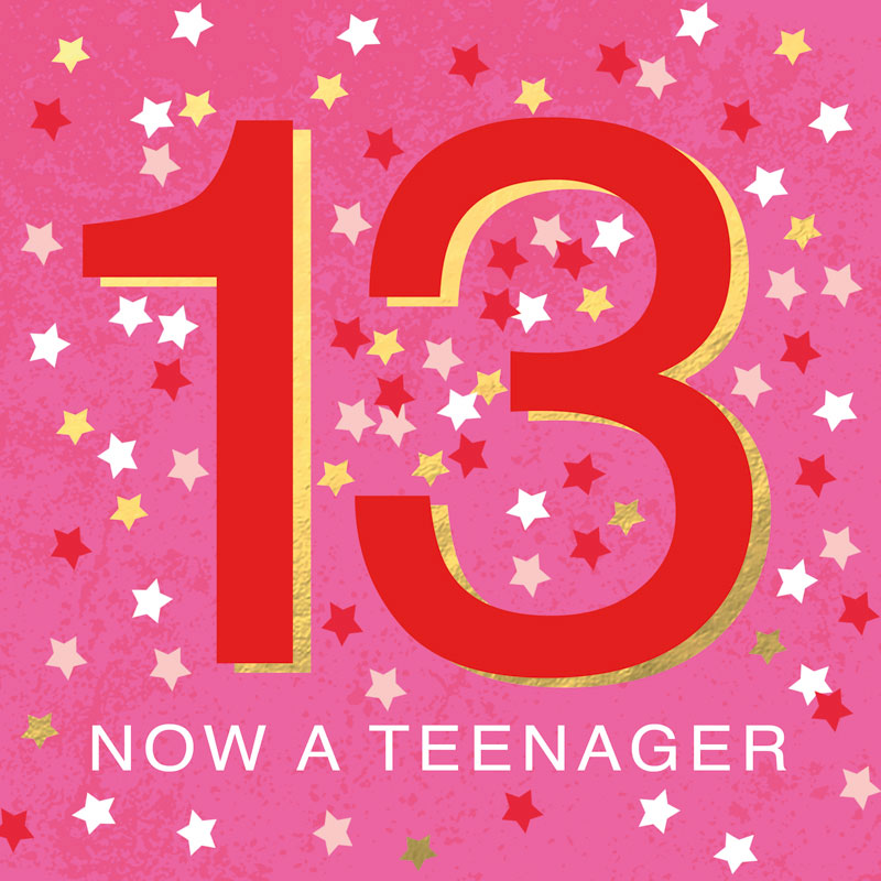 13 Now A Teenager