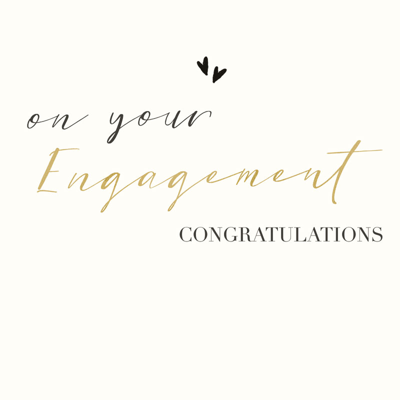 On Your Engagement Congratulations
