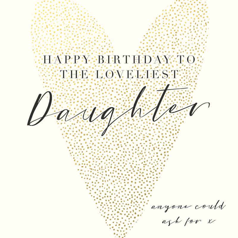 Daughter Happy Birthday