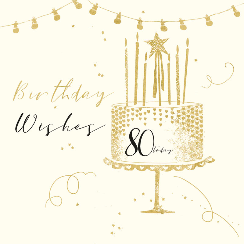Birthday Wishes 80 Today