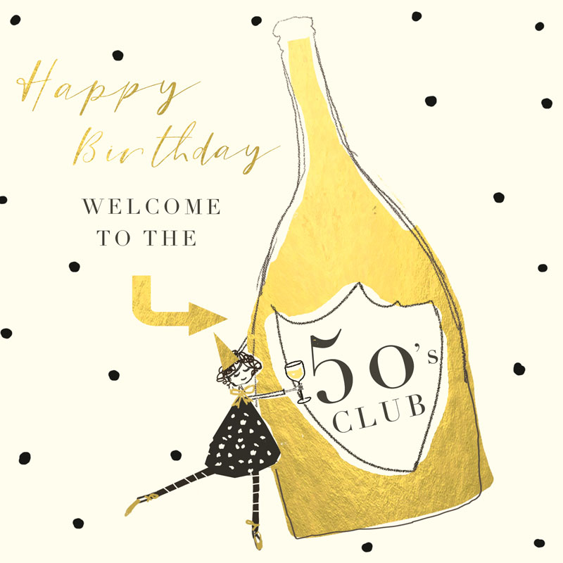 Happy Birthday Welcome To The 50's Club