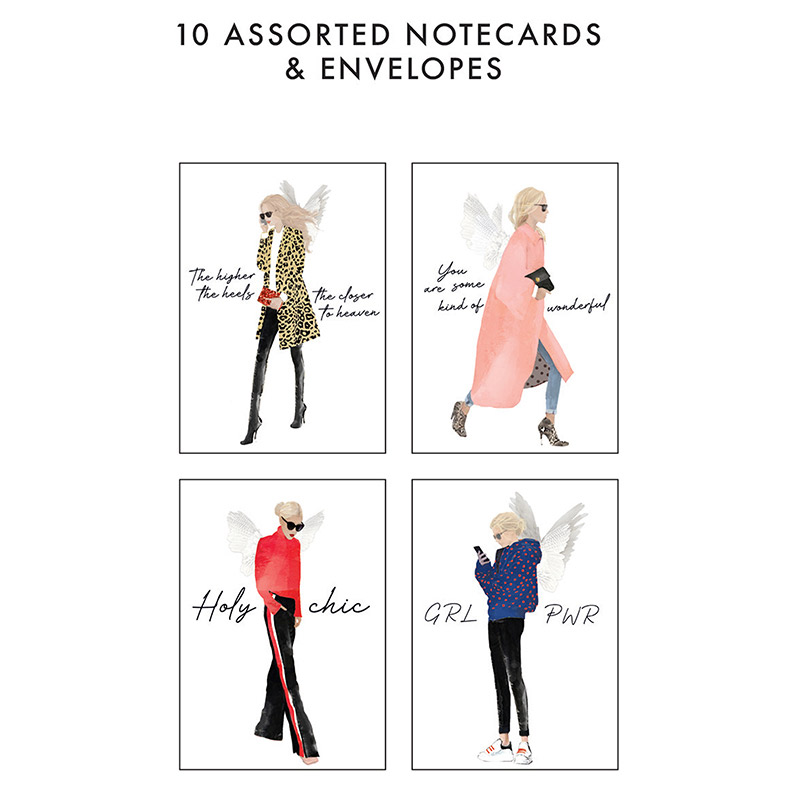 Chica Notecard Set