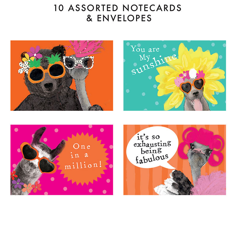 Fancypants Notecard Set